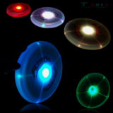 LED Flying Disk, in Evening When Open Light Switch