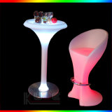 Rechargeable Bar Furniture LED Bar Chair Stool