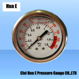 63mm Vibration Proof and Liquid Fillable Panel Pressure Meter