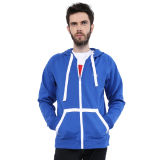 Customized Cotton Fleece Hoodies with Full Zipper