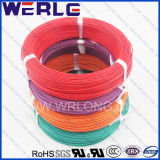 Teflon Insulated 200 Degree 300V Solid Wire