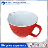 Custom Size Melamine Bicolor Punch Snack Bowl