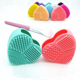 Factory for Heart Shaped Silica Clear Make up Brushes