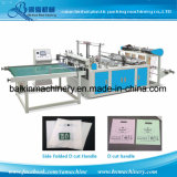 D Cut Handle Shopping Bag Making Machine
