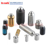 Spring Plungers, Micro Spring Plungers, Spring Plungers with Tapped Nose