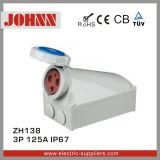 IP67 3p 125A Female Industrial Socket