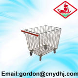 Hot Sale Warehouse/Supermarket Tallying Trolley Yd-G006