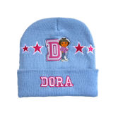 Cute Embroiderey Flanging Kid Hat (JRK077)