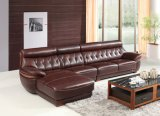 Europan Style Leather Soft Sofa Living Room Sofa Set (SBL-1703)