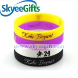 Customized Event Music Party Glow in Dark Silicone Wristbands