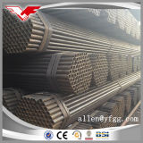 Dn50 Black ERW Low Carbon Fence and Construction Steel Pipe