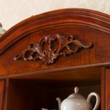 French Style Hot Sale Antique Wood Wine Rack Cabinet (GSP19-002)