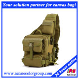 Mens Functional Canvas Messenger Bag for Hiking and Traveling