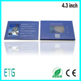 Folded Paper Card, 4.3 Inch Video Recorder Card