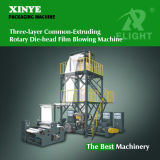 Three-Layer Common Extruding Rotary Die-Head Film Blowing Machine