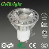 GU10 LED Lamp COB 5W Aluminum Housing LED Spotlights
