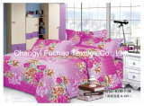 Queen Size Printed Polyester Quilt Cover Faric for Bedding Set