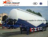 3 Axles 55 Cbm Cement Transport Tanker Trailer