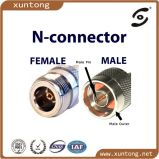 N Connector Male Crimp Plug for LMR400 Rg8