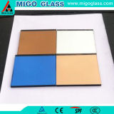 5mm Dream Colored Water-Resistant Back Painted Glass for Bathroom