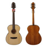 Aiersi Handmade 40-Inch Solid Top Acoustic Guitar with Okoume (SG02SO-40)