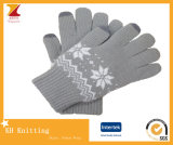 Warm Double Layer Winter Knitted Glove