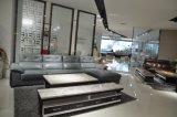 Modern Living Room Genuine Leather Sofa (SBL-9205)