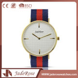 Waterproof Quartz Ladies Stainless Steel Watch with Mineral Glass
