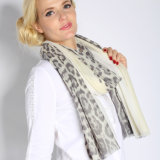 100% Superfine Water Soluble Wool Printed Scarf