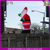 Christmas Candy Santa Claus Huge Stand Inflatable Event for Party
