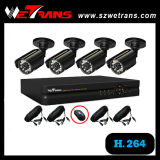 CCTV 4CH DVR+IR Camera Kit (CCTV Kit-5204BM-B) CCTV Camera System