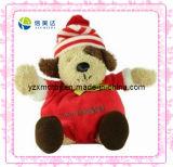 Lovely Dog Plush Christmas Toy (XDT-0182)