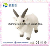 Plush Mountain Goat Stuffed Animal