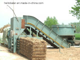 Hydraulic Automatic Straw Baler Recycling Machine