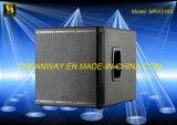 100 dB Spl Mrx518s 8ohms Subwoofer DJ Audio Speaker Box Conference Room System