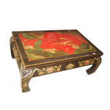 Chinese Antique Painted Coffee Table Lwe171