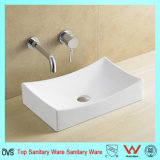 Ovs China Manufacturer Bathroom Ceramic Sink Without Faucet Hole
