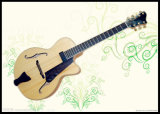 7 Strings Jazz Guitar with Solid Wood (YZ-22N01)