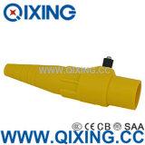 IEC 60309 Large Current Yellow Rhino Horn Plug / Socket