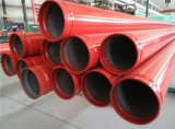"""Painted or Galvanized 2 1/2"""" UL FM Fire Fighting Steel Pipes"""