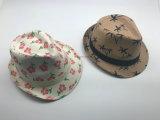 Printing Pattern Fedora Paper Straw Hats