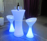 LED Cocktail Table, Illuminated LED Table Furniture (GR-PL25)