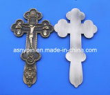 Antique Cross Metal Tag for Member of The Christian Gift