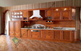 Classic Solid Wood Kitchen Cabinet Design (zs-291)
