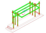 Heavy Duty Stage Truss System for Gymnasium Events