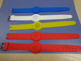 Eco-Friendly Gyms Fitness Rubber Silicone RFID Bracelet