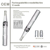 Rechargeable Dermapen Machine Dermaroller Microneedle Therapy Beauty Pen (ZX12-60)