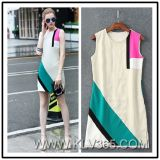 New Style Fashion Ladies Summer Sleeveless Casual Dress