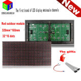 P10 32X16 Matrix Programmable Red Outdoor LED Display Module Panel Shop Sign