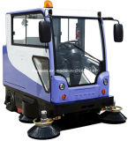 Driving Type Parking Lot Road Sweeper Machine